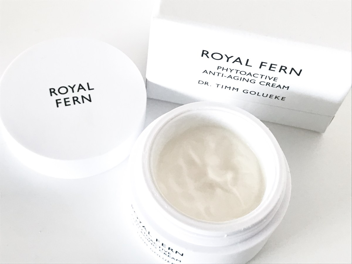 Beauty essential: Royal Fern anti-aging cream